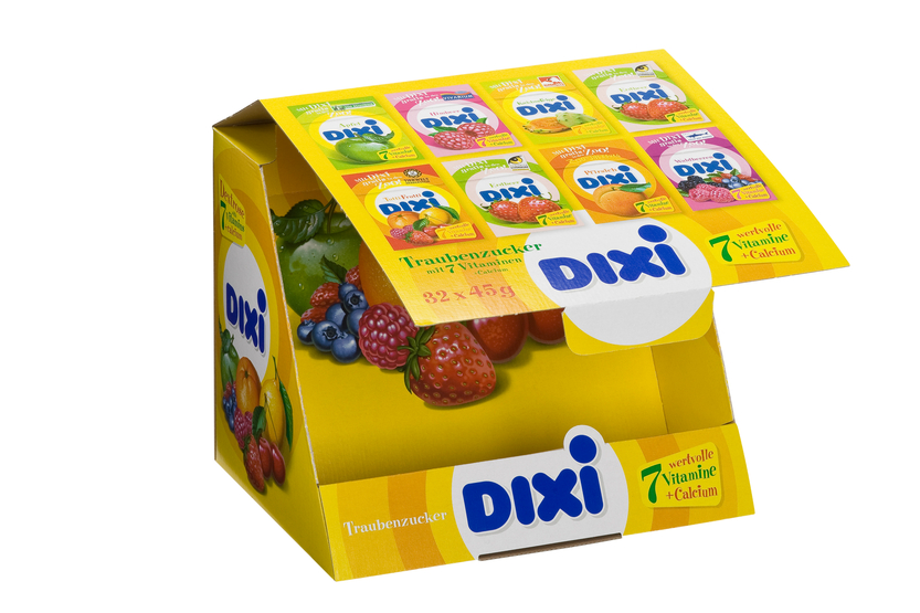 Dixi Display offen
